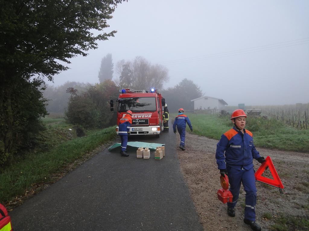 JF Übung: Verkehrsunfall