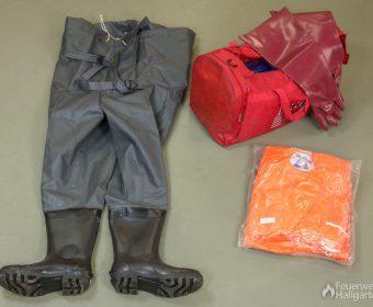 Wathose & leichte Schutzkleidung