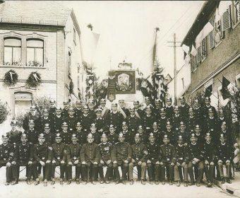 Fahnenweihe FFW Hallgarten (1928)