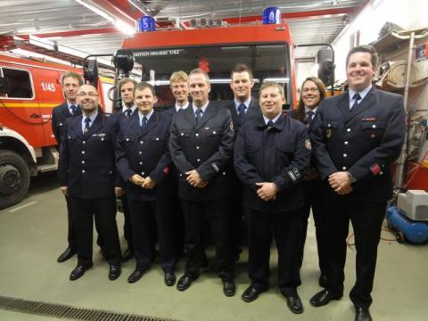 Vorstand Freiwillige Feuerwehr Hallgarten