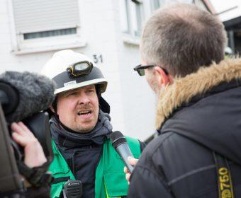 Pressesprecher Ingo Platz