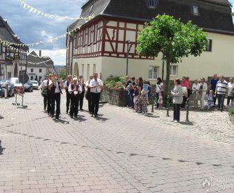 Musikkapelle beim Kirchweihfest