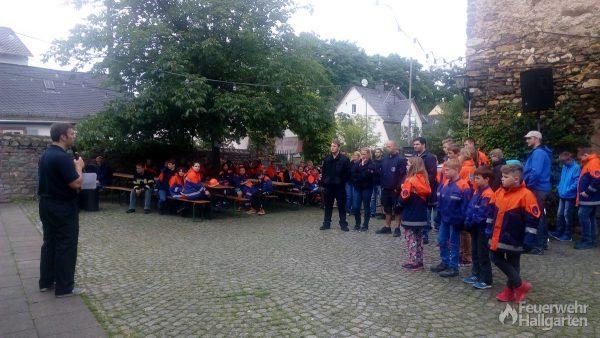 Wettkampf Jugendfeuerwehr Hattenheim