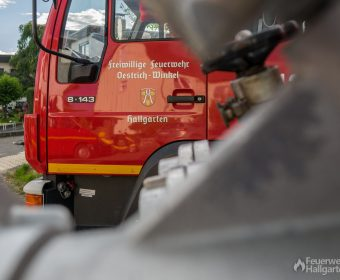LF 8 der Feuerwehr Hallgarten