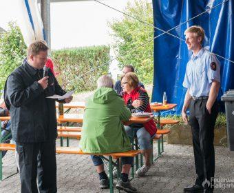 Stadtbrandinspektor Ringel ruft zur Beförderung und Ehrung
