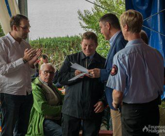 Auch langjährige Mitglieder im Verein wurden geehrt