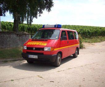 MTW Feuerwehr Hallgarten