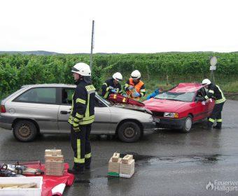 Rettungsrucksack zur Erstversorgung im Einsatz