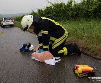 Ein Unfallbeteiligter war ranimationspflichtig