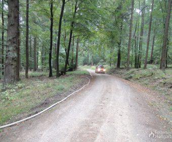 Waldbrandbekämpfung - lange Wegstrecke