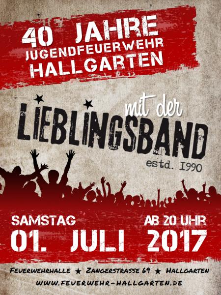 Plakat Samstag