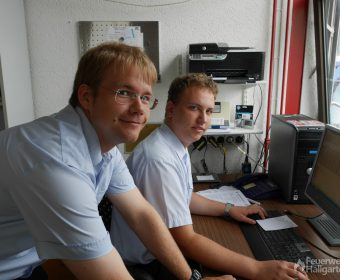 Die Masterminds im Hintergrund: Die Jugendwarte Torsten und Jan