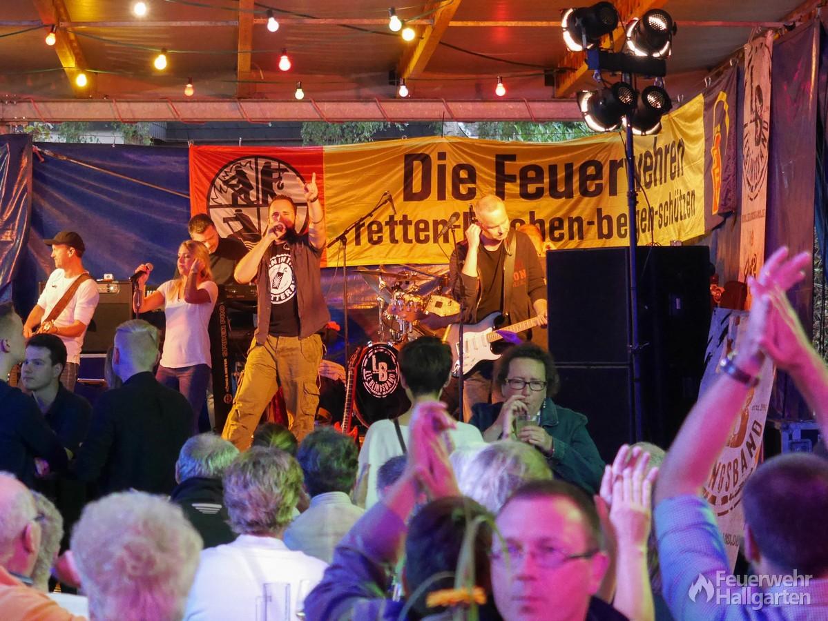 Lieblingsband vor Publikum