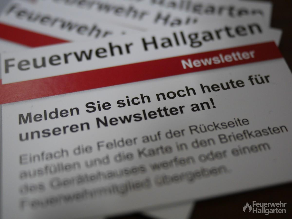 Newsletter Feuerwehr Hallgarten