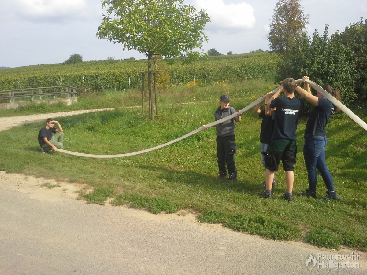 Wettkampf bei der JF Erbach