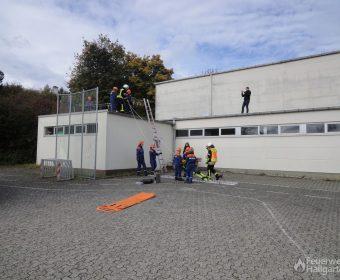 Menschenrettung-Dach