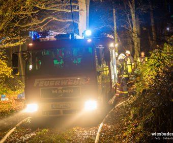 LF8 der Feuerwehr Hallgarten (Foto Wiesbaden 112)