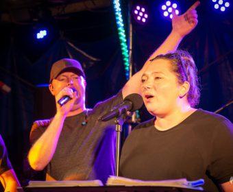 Sänger und Sängerin von Heernixx