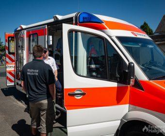 Einblicke in einen Rettungswagen der Malteser